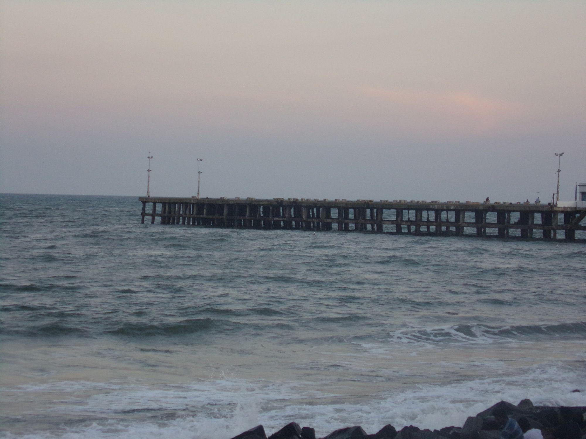 jete pondicherry vieux port Inde