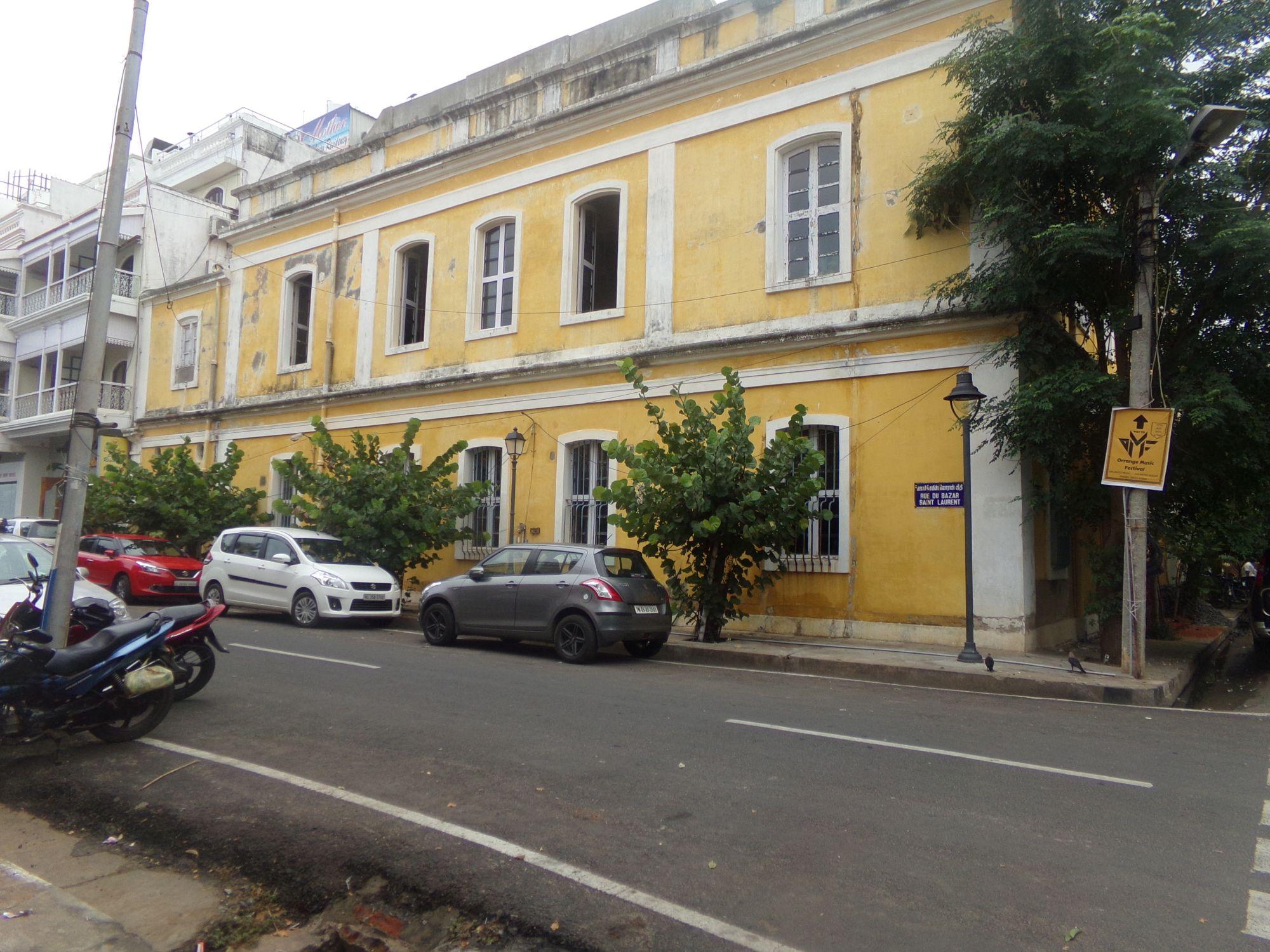 maison quartier francais pondicherry
