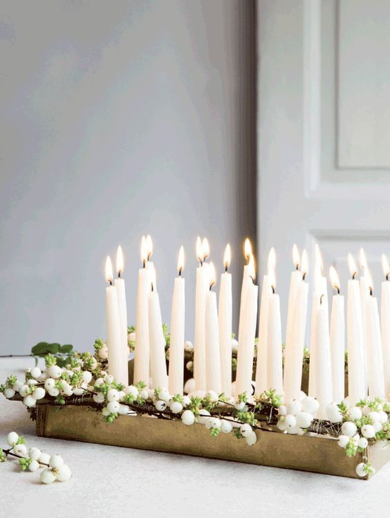 Inspiration d co pour un no l lumineux cocon de d coration le blog - Deco table de noel a faire ...