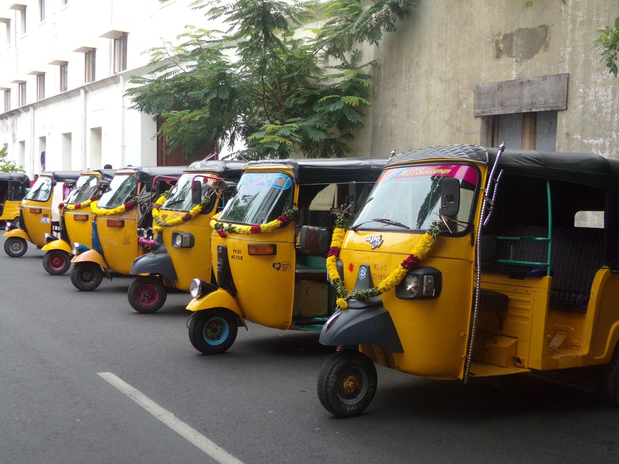 inde du sud tuktuk