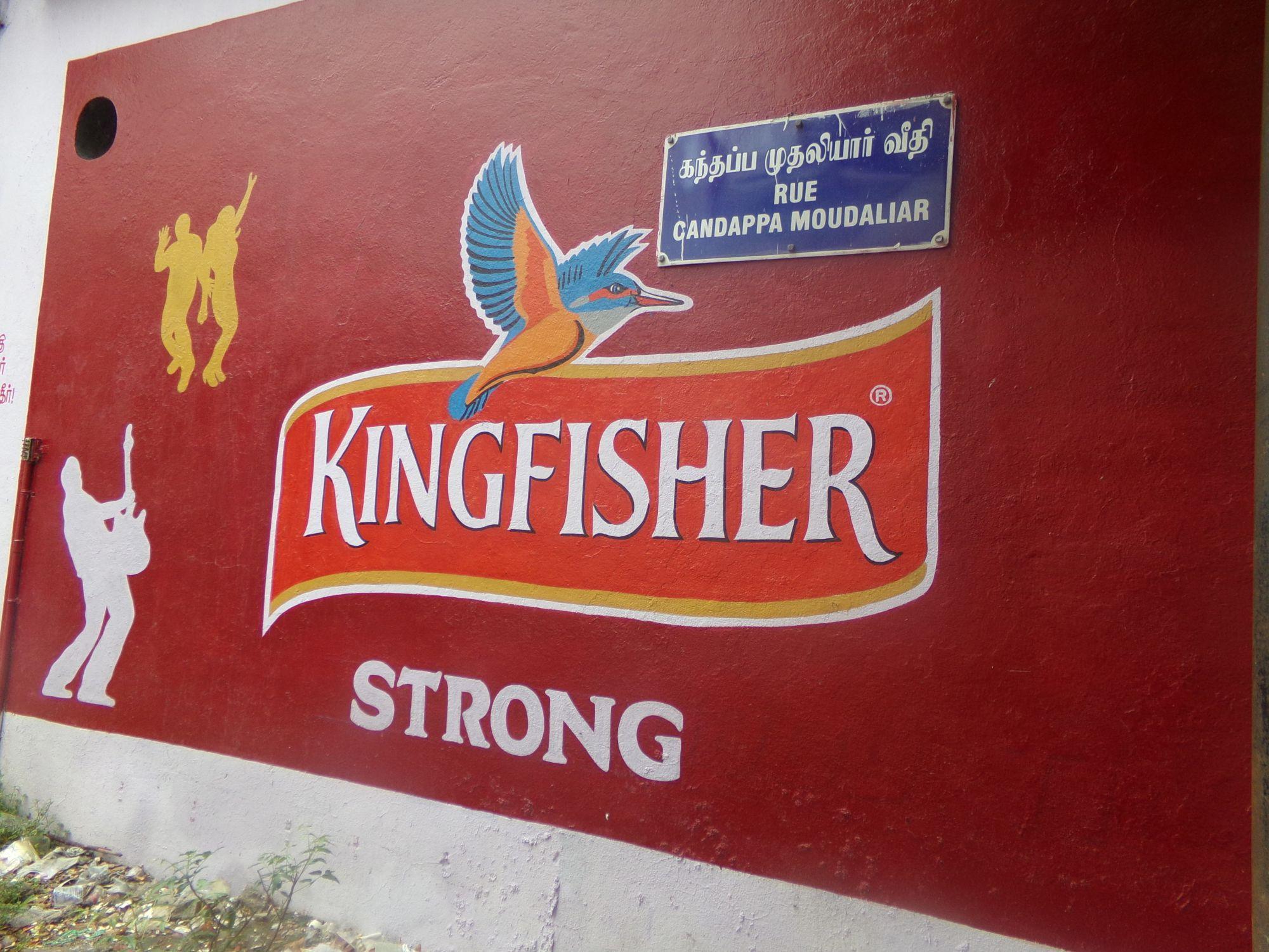 kingfisher biere indienne