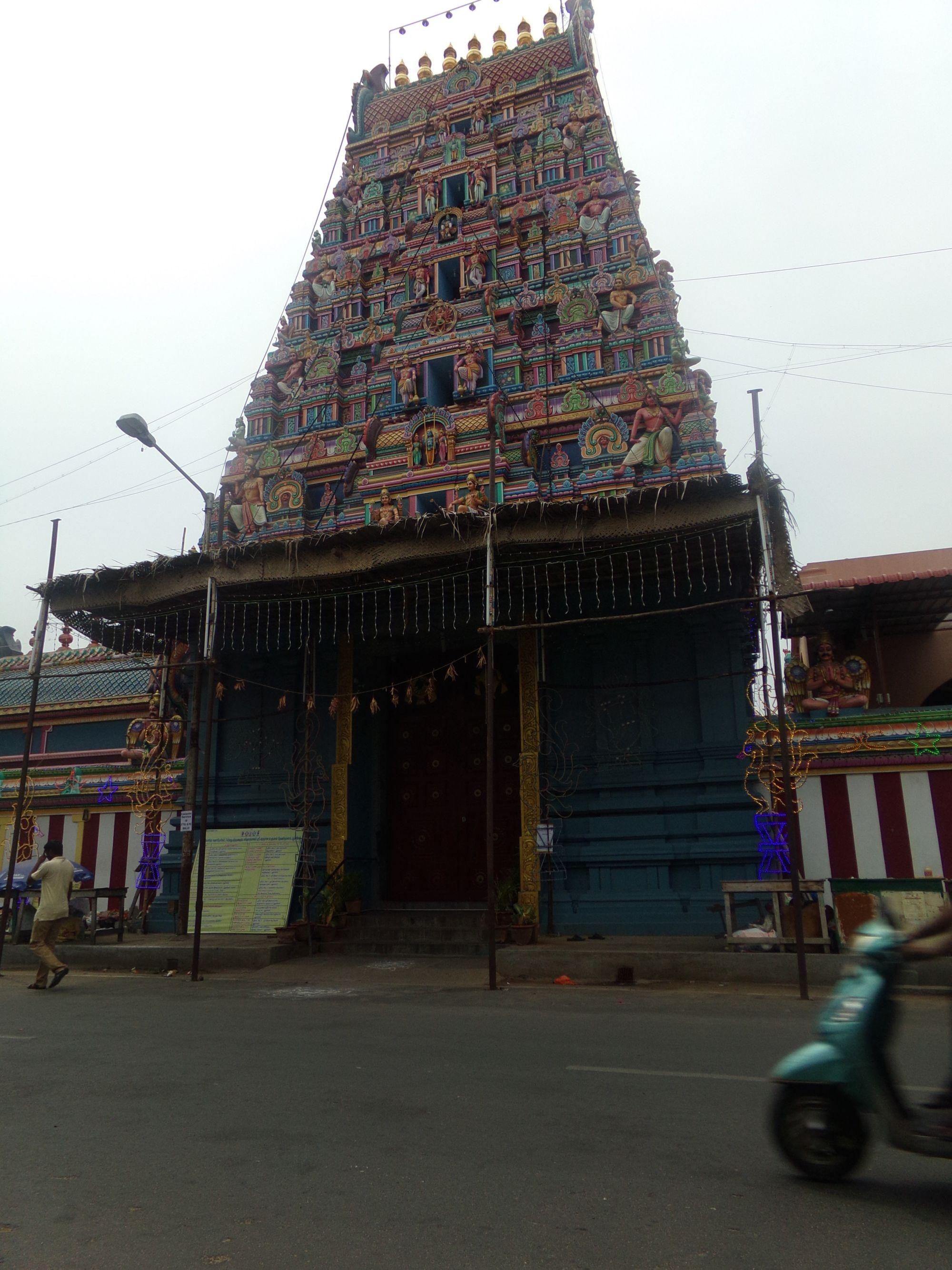 pondy temple decouverte couleurs