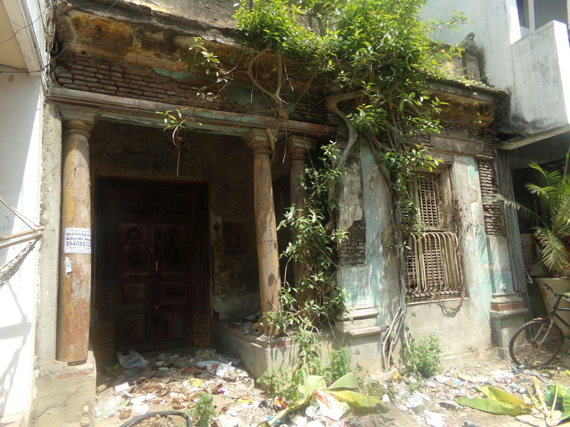 ancienne maison tamoule pondicherry