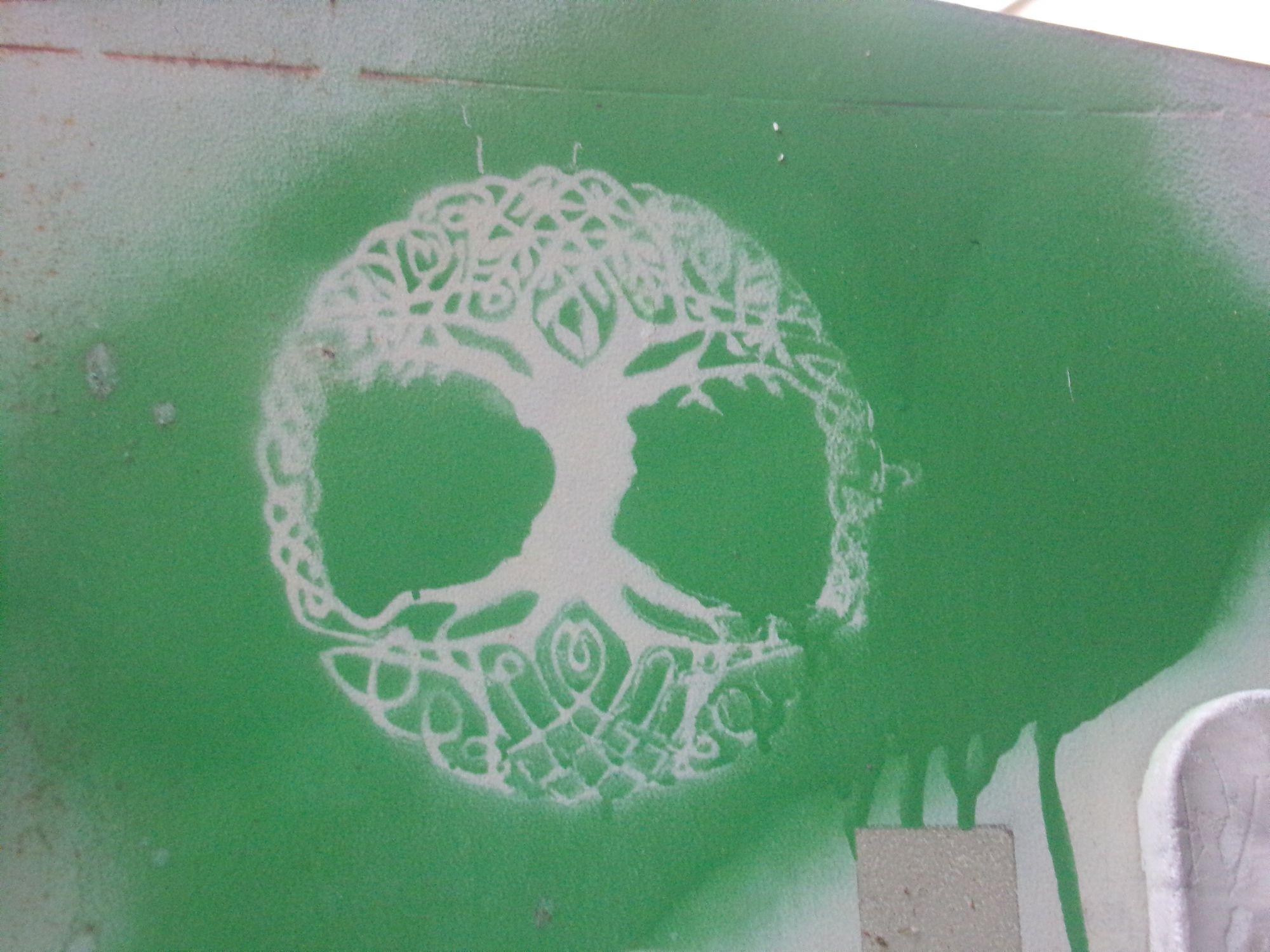 street art pondicherry vert