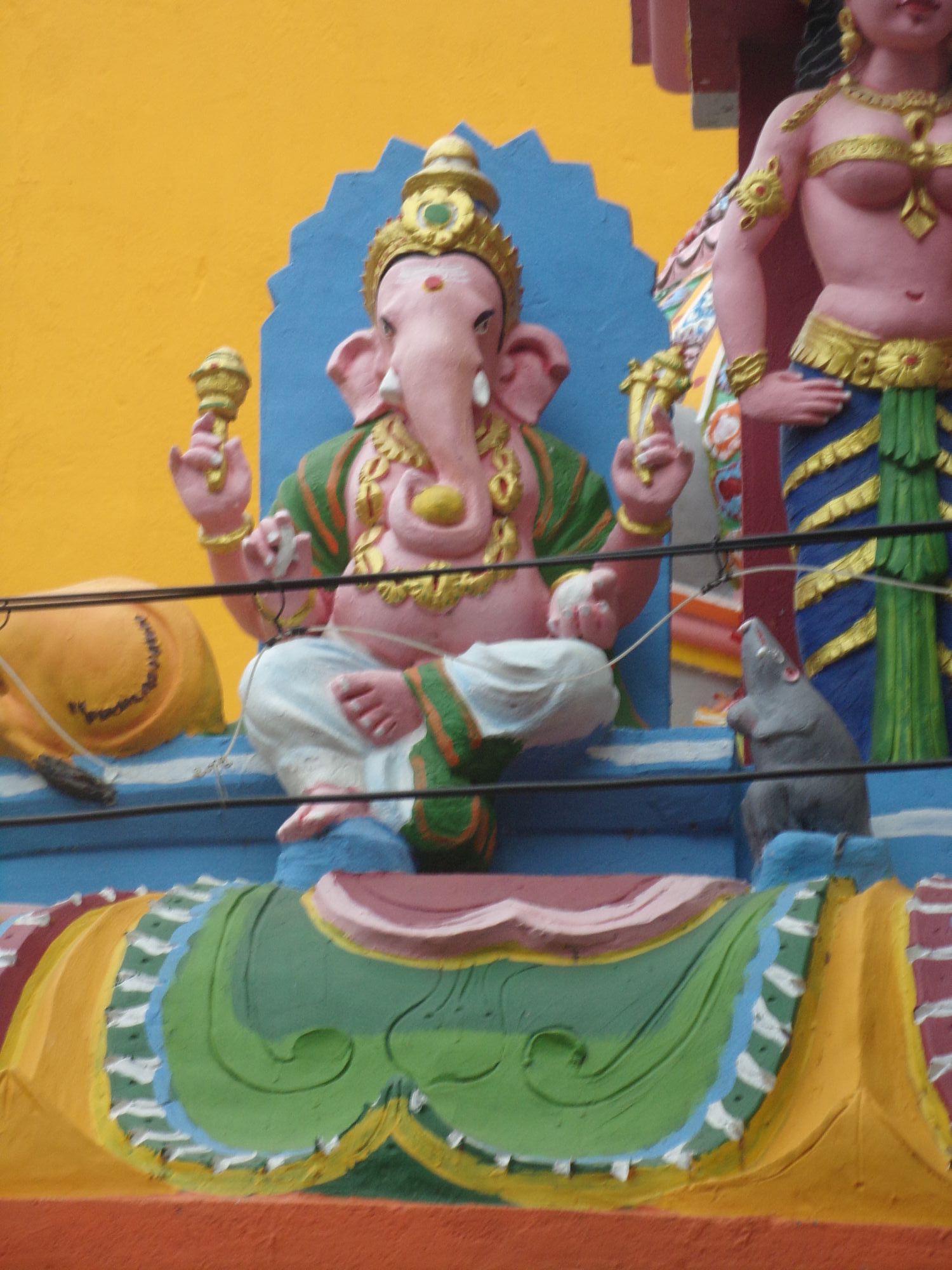 temple hindou ganesh details pondy