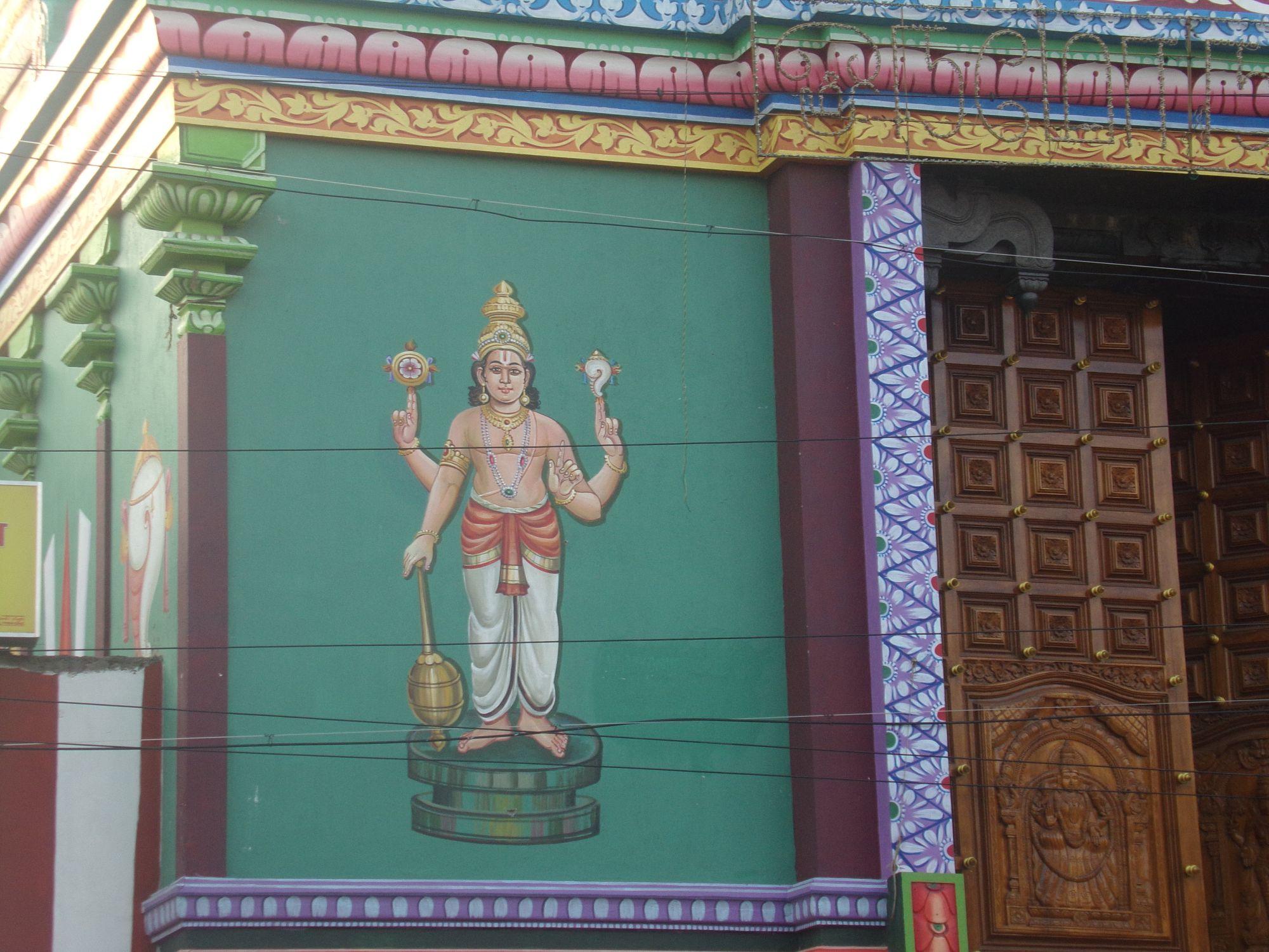 temple couleur pondy