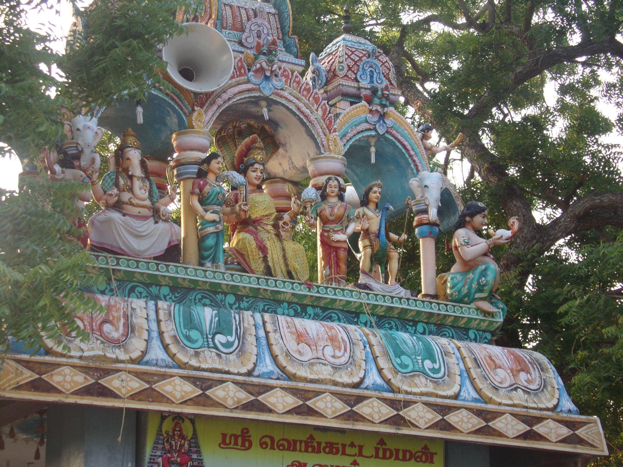 temple hindou monument visite inde du sud