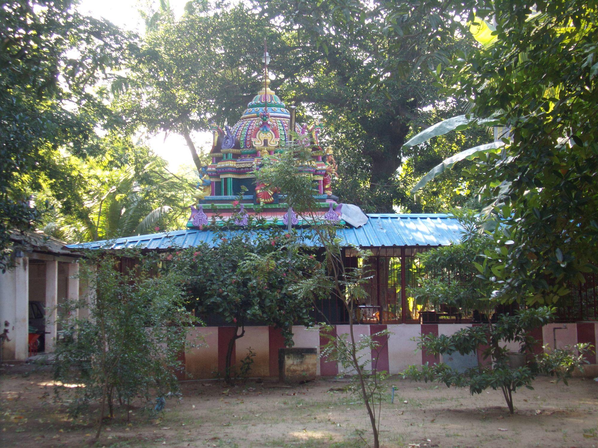 temple hindou quartier francais rue suffren pondicherry