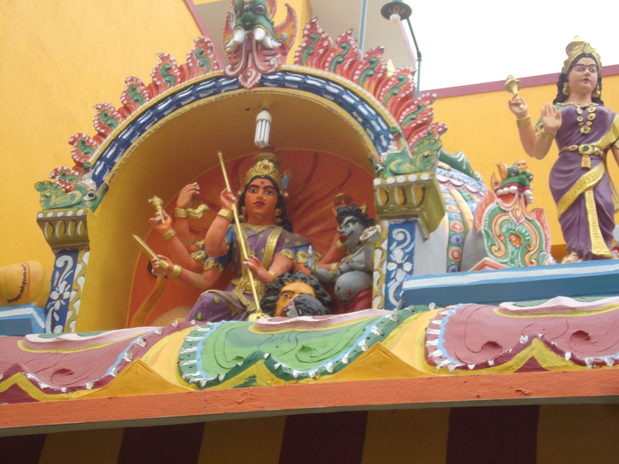 temple quartier tamoul dicinite decouverte pondy