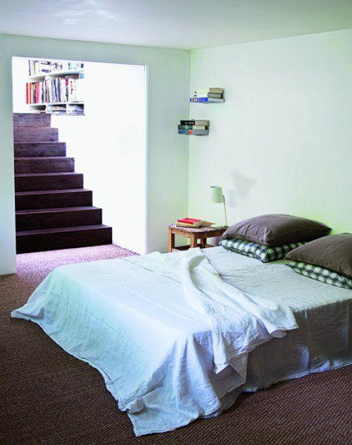chambre vert tendre decoration interieur