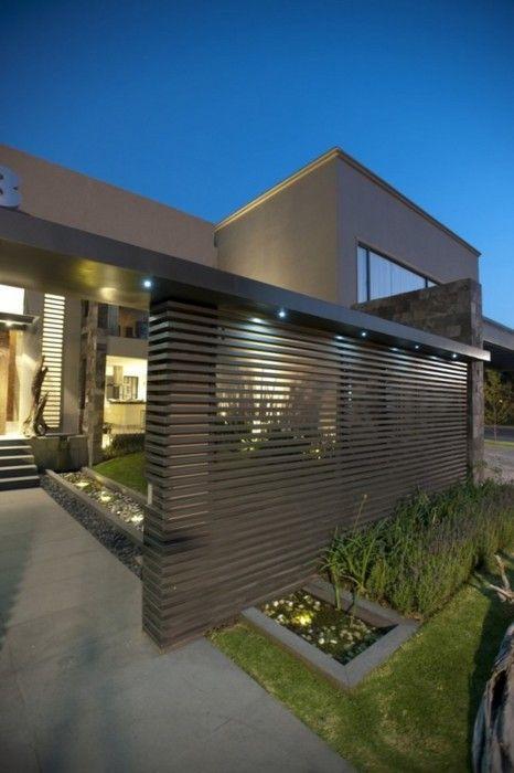 portail deco contemporain classe luxe jardin protection maison