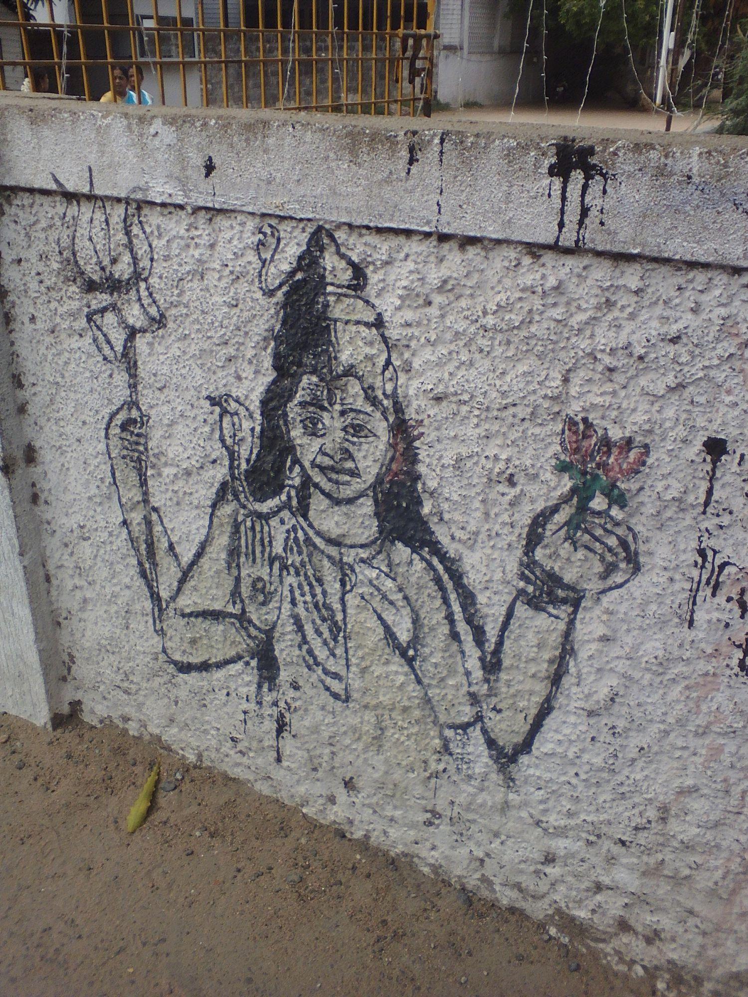 street art chennai tamil nadu hindouisme