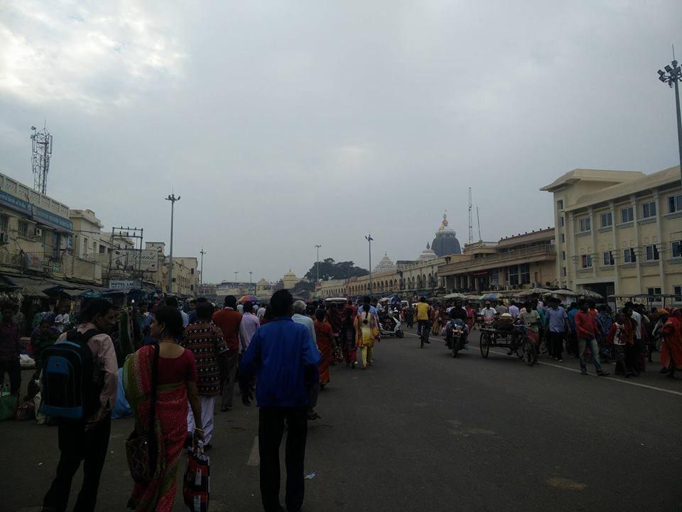 temple jagannath visiteurs inde puri