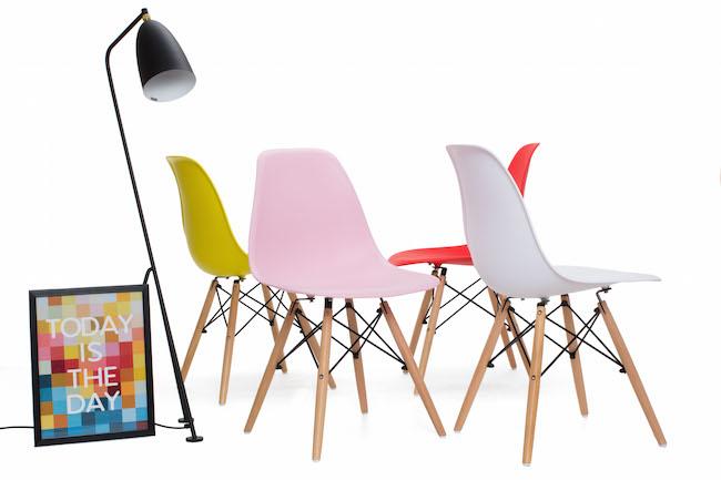 5 idees chaises colorees maison deco