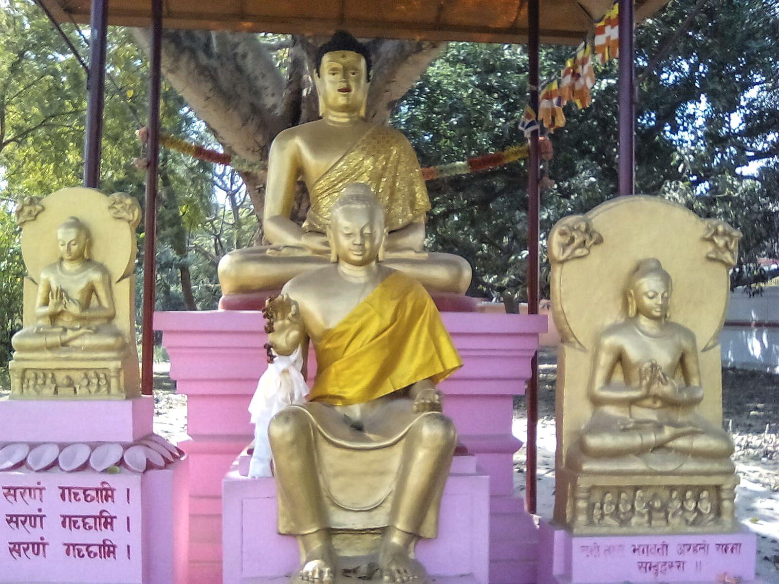 fontaine bouddha sanarth inde visiter
