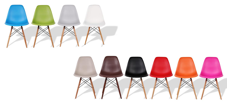 5 mani res d utiliser des chaises color es la maison - Chaises de couleur ...