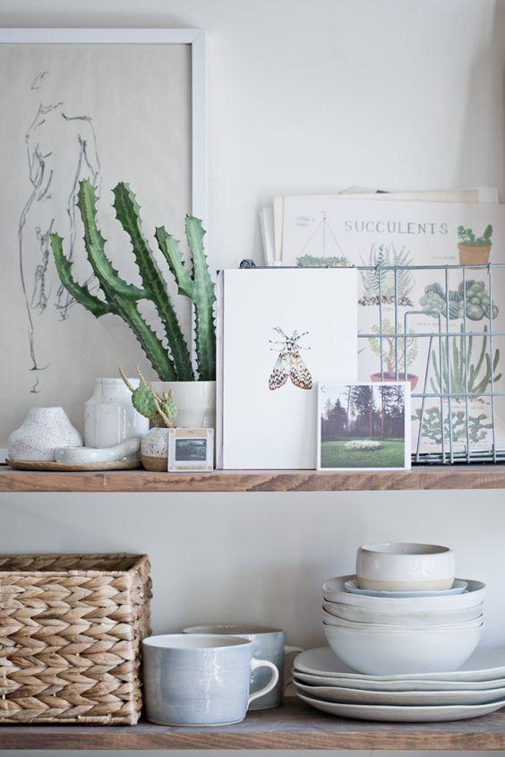 deco cuisine plante inspiration kinfolk scandinave