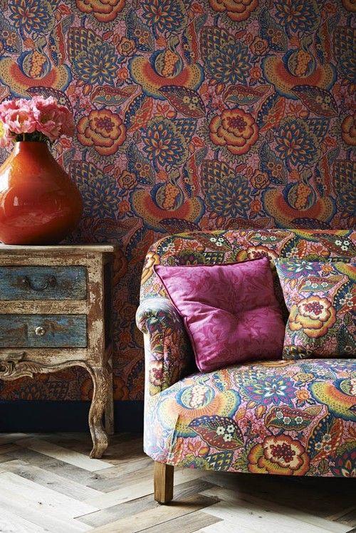 decoration inspiration kinfolk tendance deco canape motifs