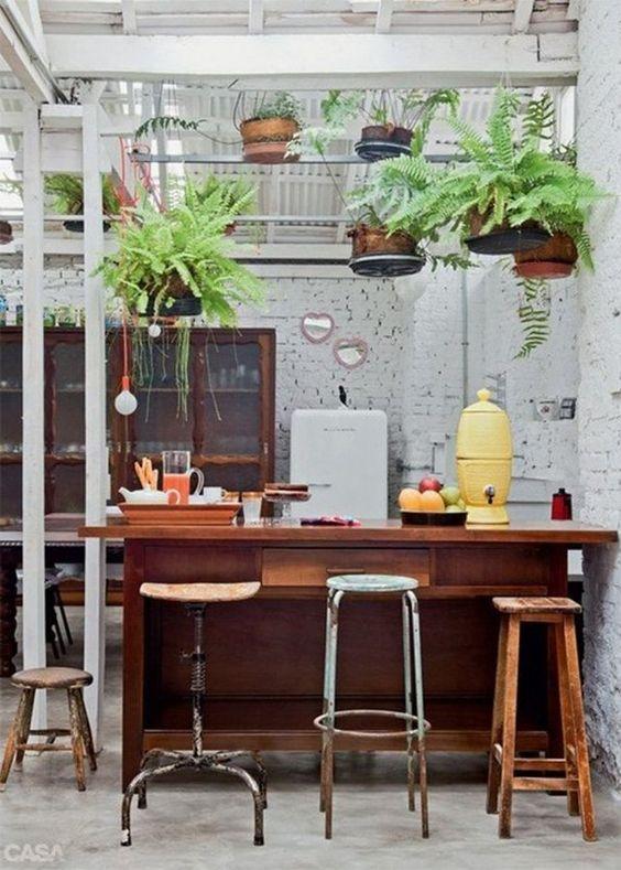 une cuisine verdoyante cocon de d coration le blog