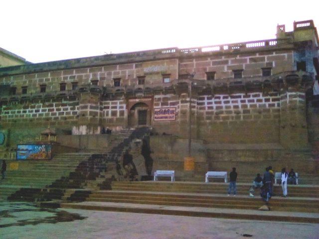 mahanirvani ghat varanasi vie nomade