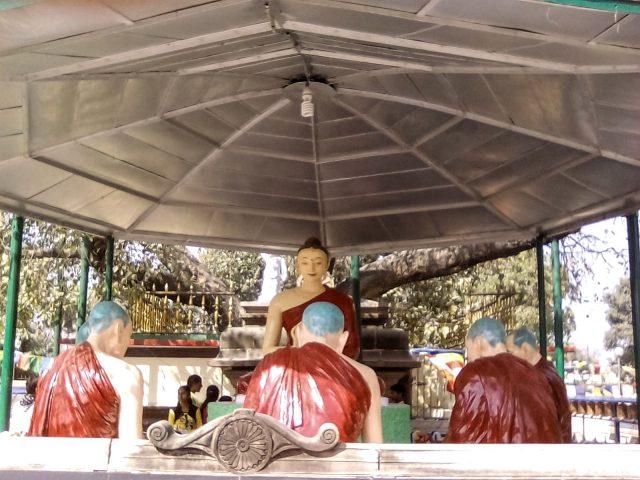 representation bouddha premier discours sarnath