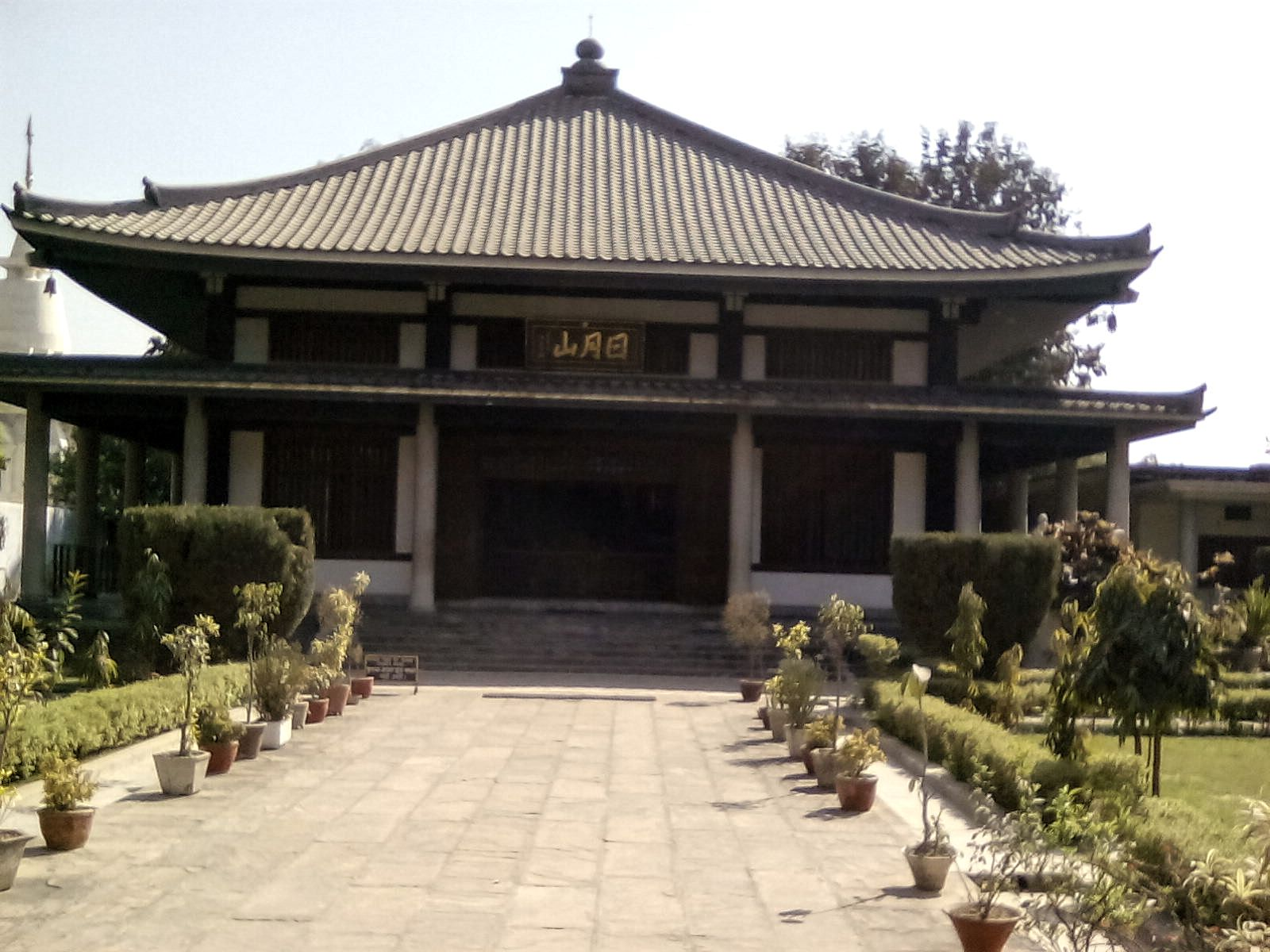 temple bouddhiste indo japonais sarnath