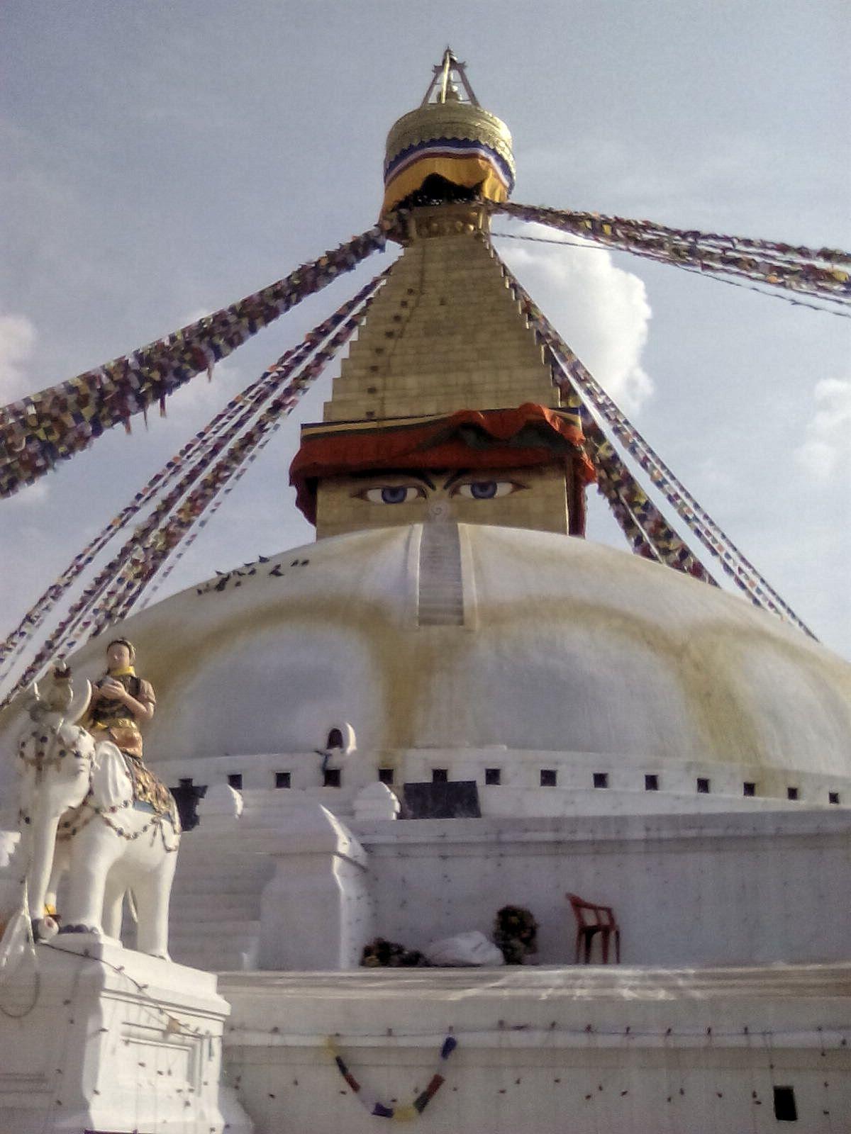bodnath stupa katmandou nepal
