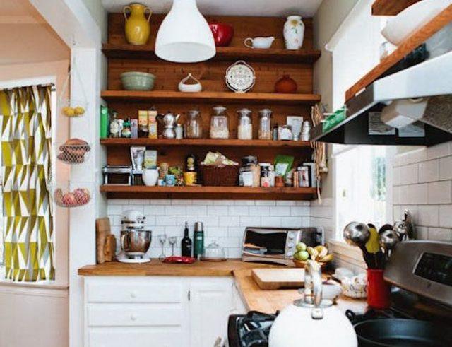 du bois dans la cuisine cocon de d coration le blog. Black Bedroom Furniture Sets. Home Design Ideas