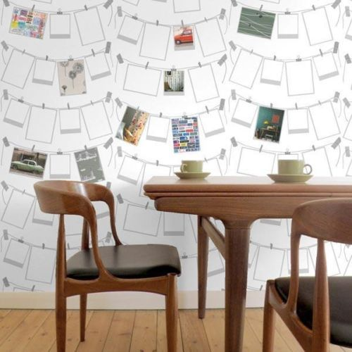 deco bureau papier peint photo creativite