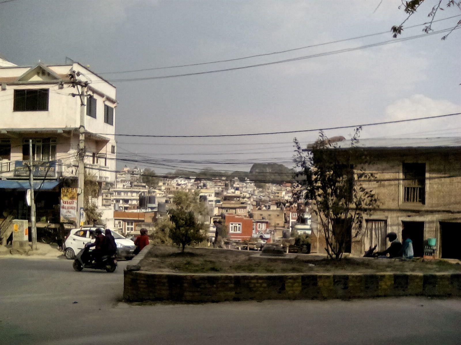 kamnadou ville nepal paysage citadin