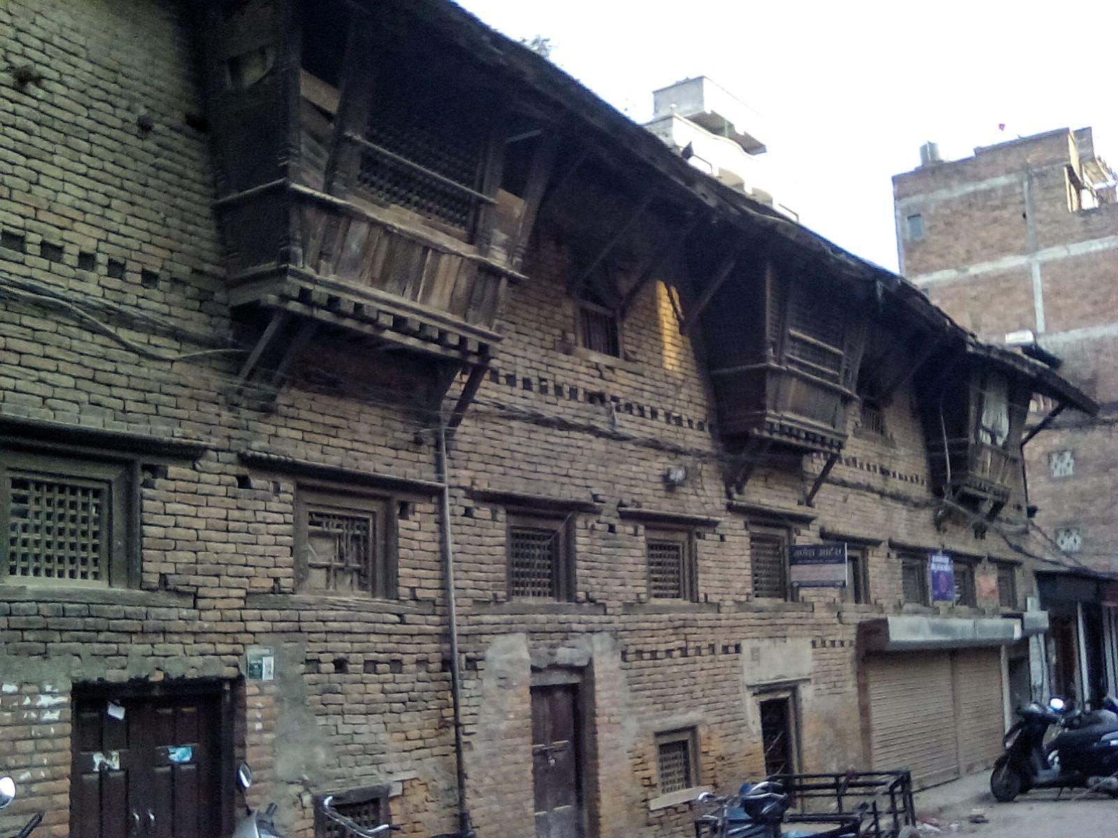 katmandou nepal vieille ville ancienne batisse