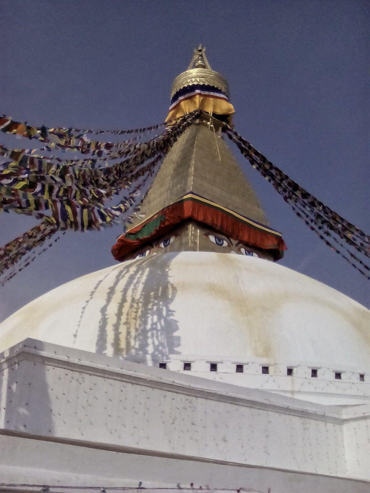 katmandou spiritualite bouddhisme stupa bodnath