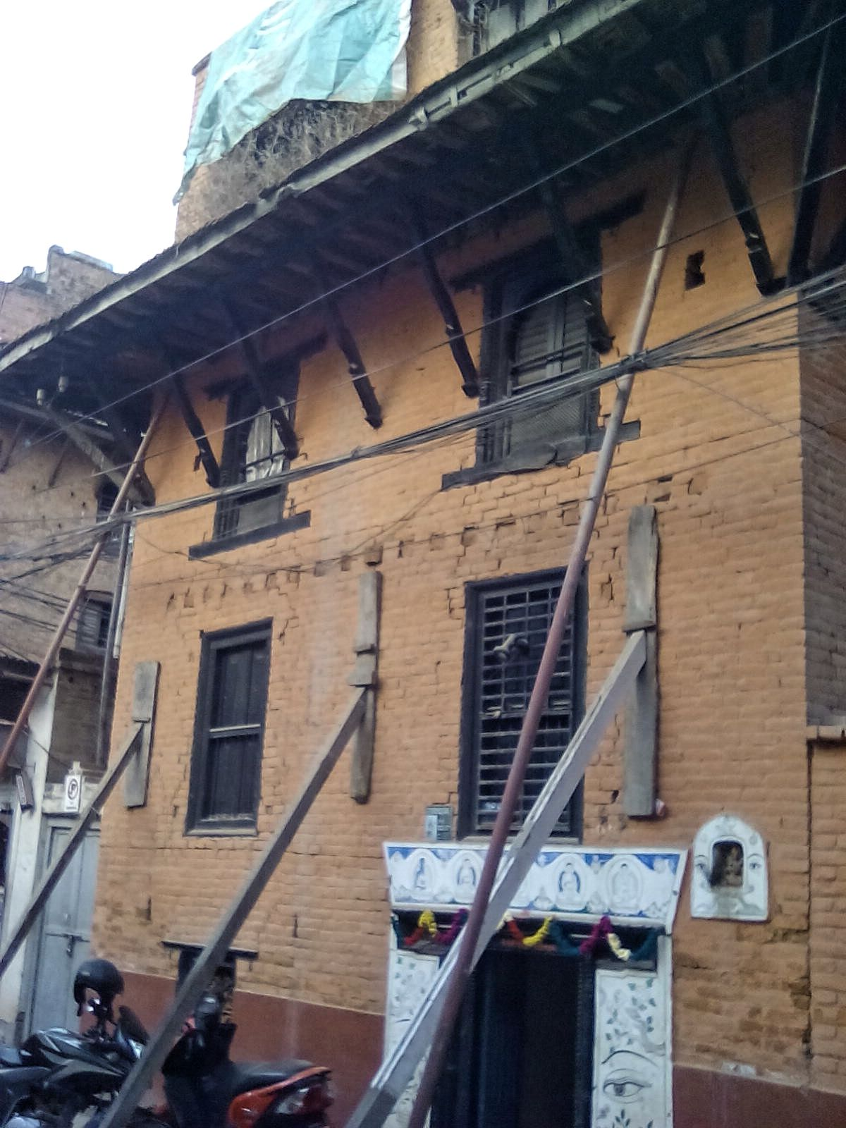 katmandou vieille maison style newar 2017