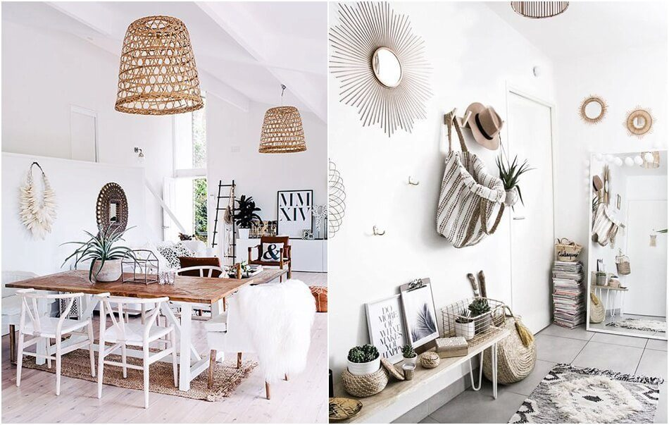 kinfolk deco blanc mur accessoire decoration