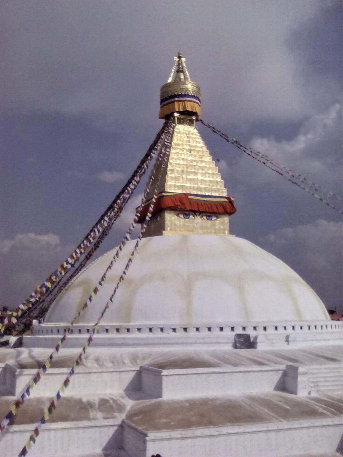 nepal katmandou visite bodnath stupa bouddha bouddhisme