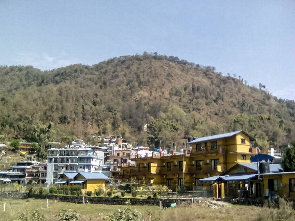 nepal pokhara montagne paysage calme