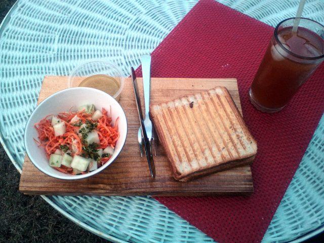 pondicherry nourriture francaise croque monsizur