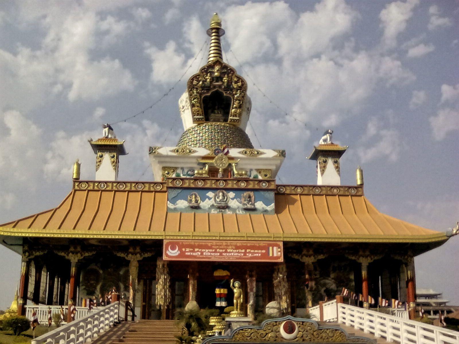 stuppa temple bouddhisme nepal lumbini visite