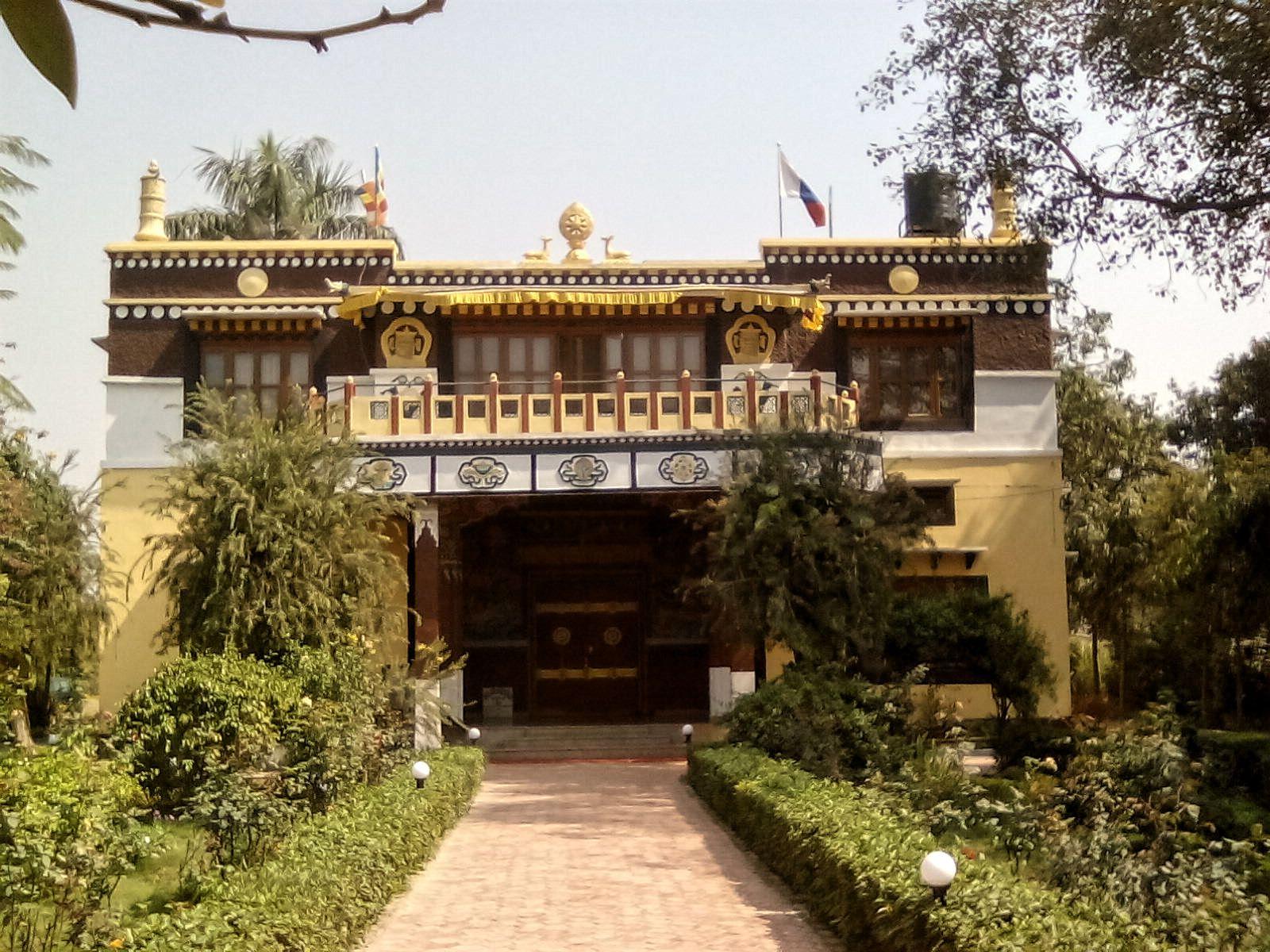 temple bouddhisme lumbini nepal nature