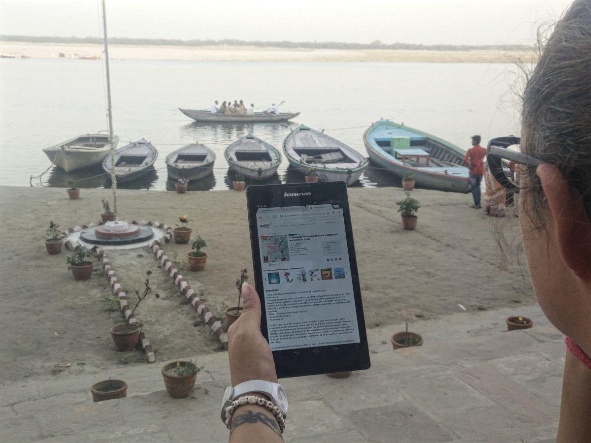 audible lecture livre audio lifestyle vie nomade voyage