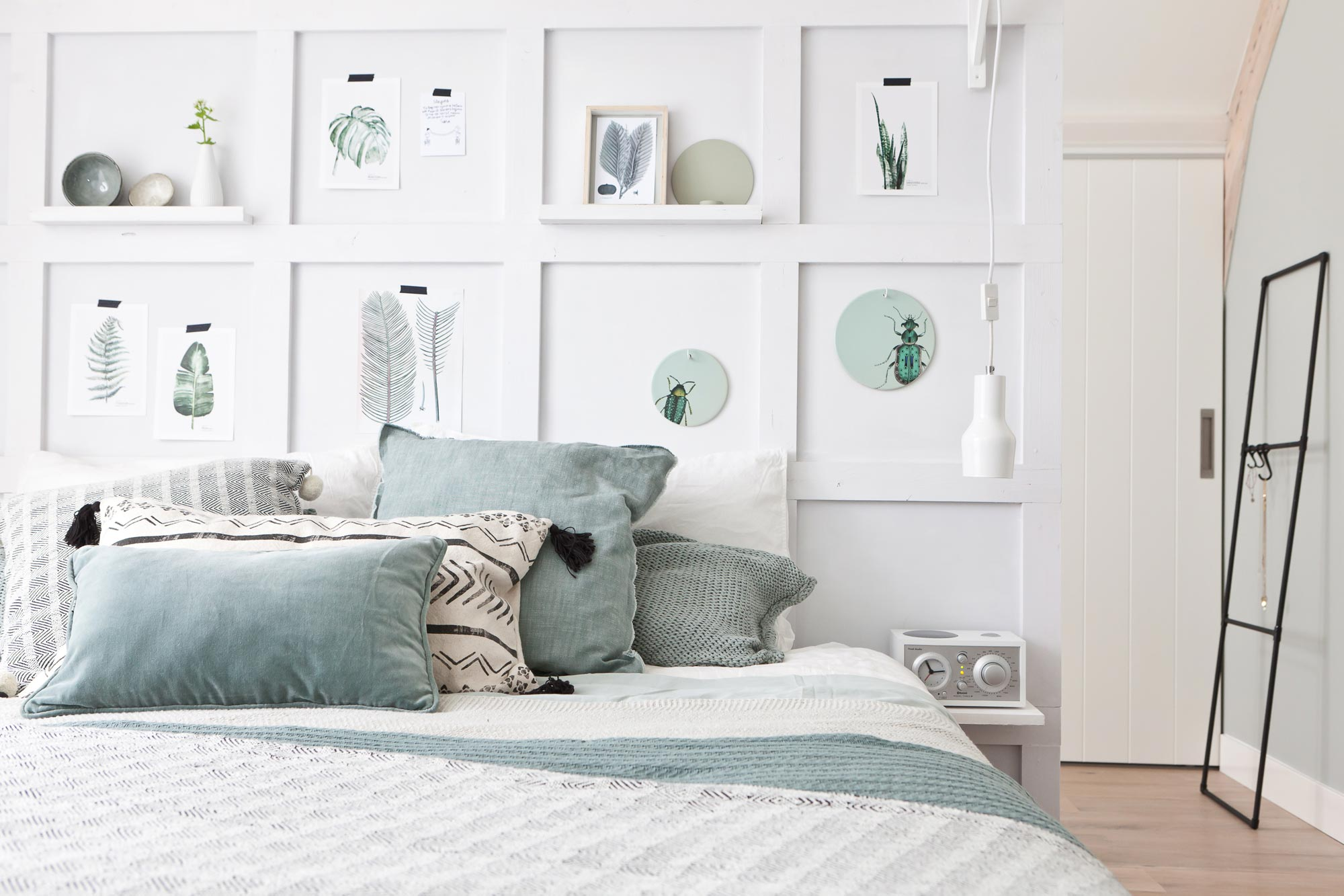 chambre decoration minimaliste sobre kinfolk