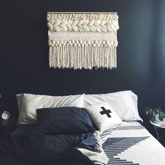 des tentures en macram boh mes cocon d co vie nomade. Black Bedroom Furniture Sets. Home Design Ideas