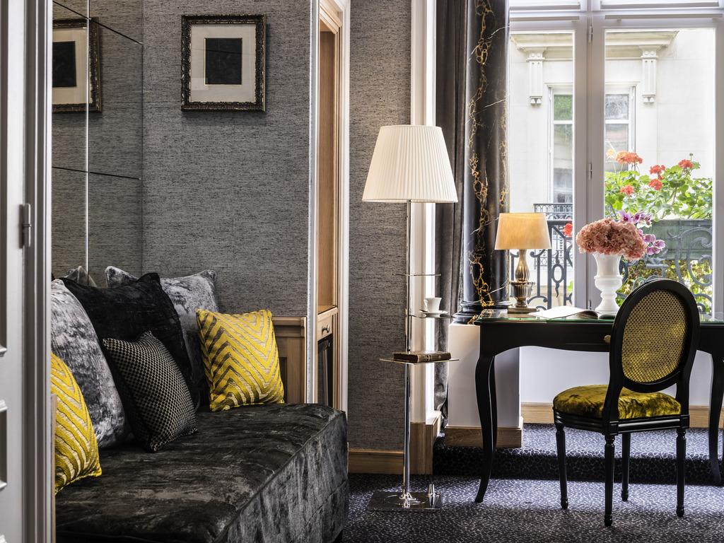 visite d co charme et raffinement l h tel baltimore cocon d co vie nomade. Black Bedroom Furniture Sets. Home Design Ideas
