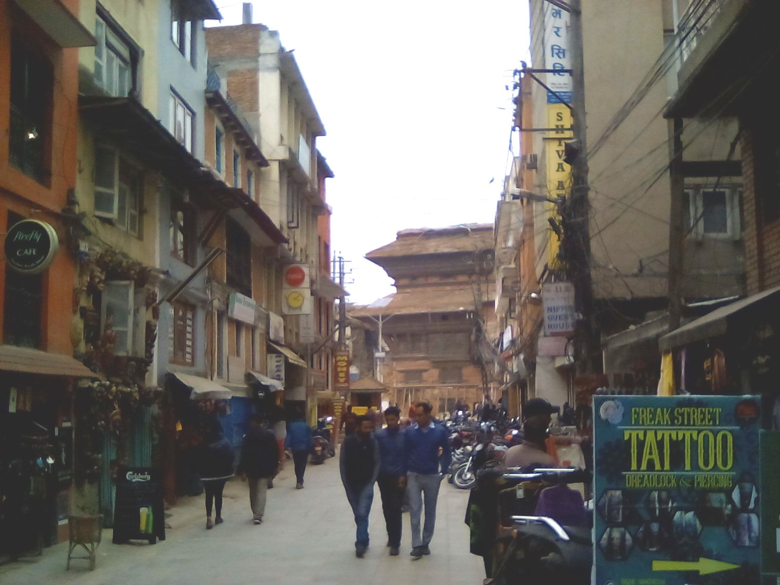 katmandou freak street durbar square