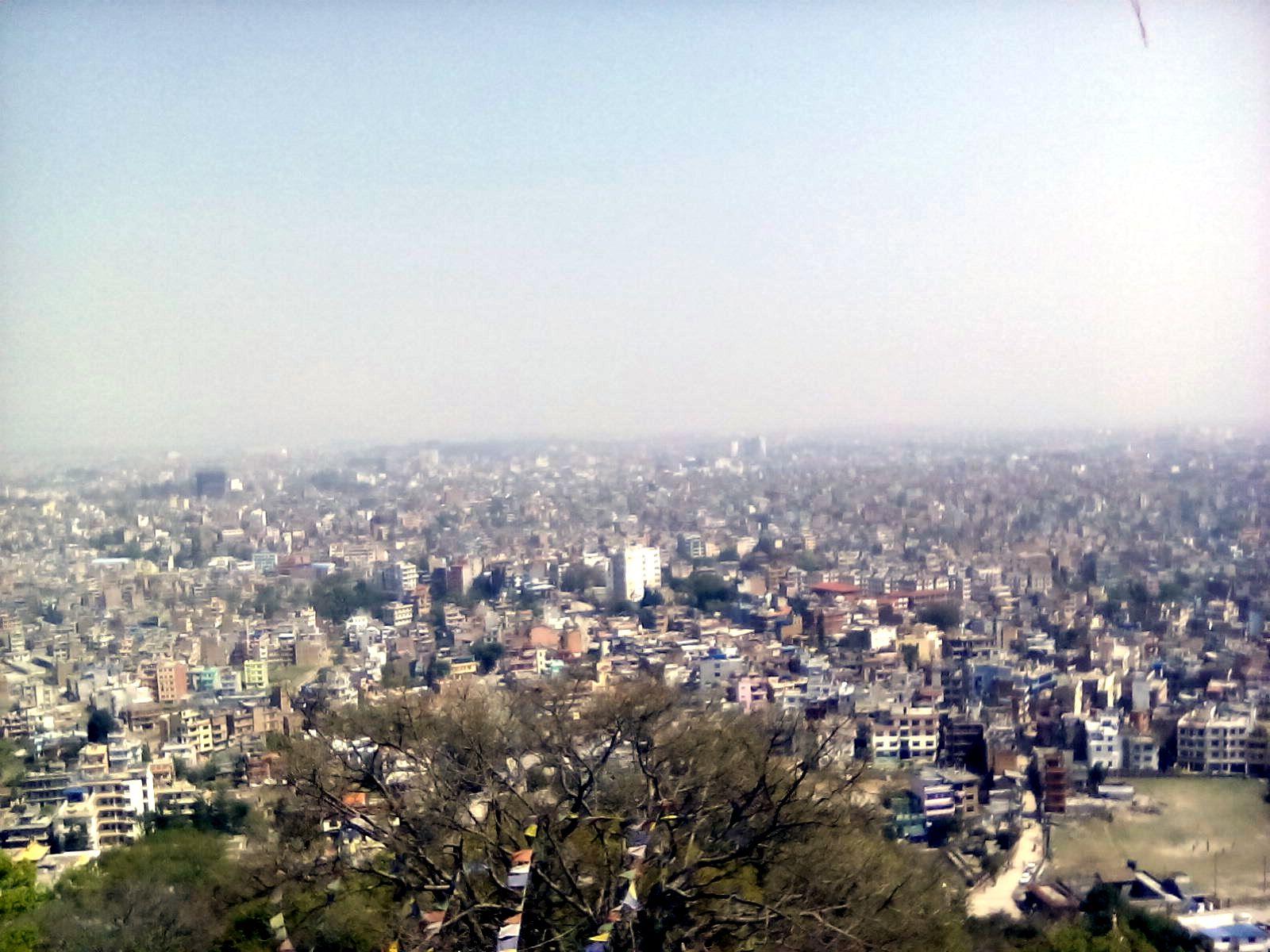 katmandou vie nomade nepal ville