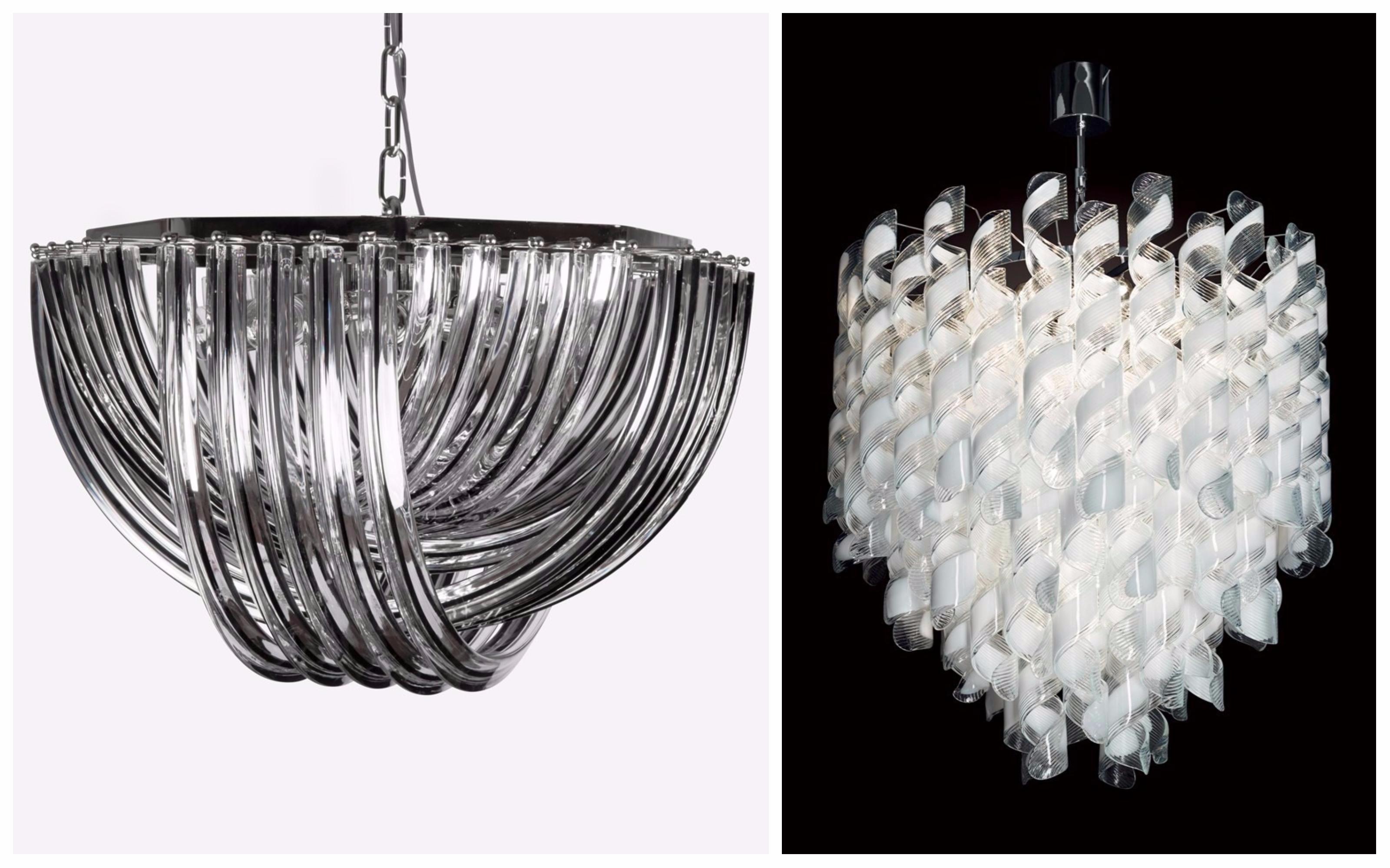 luminaires vintage verre de murano