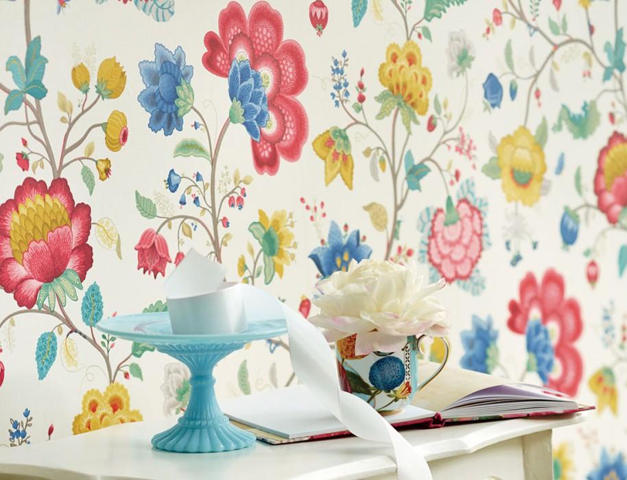 Le papier peint pour toute la maison cocon de d coration le blog - Papier peint facile a poser ...