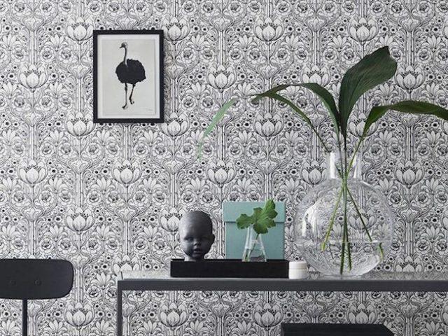 le papier peint pour toute la maison cocon d co vie. Black Bedroom Furniture Sets. Home Design Ideas