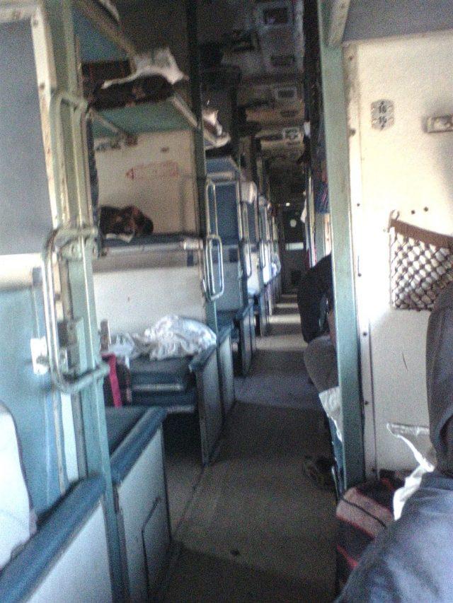 train en Inde voyage 3ac