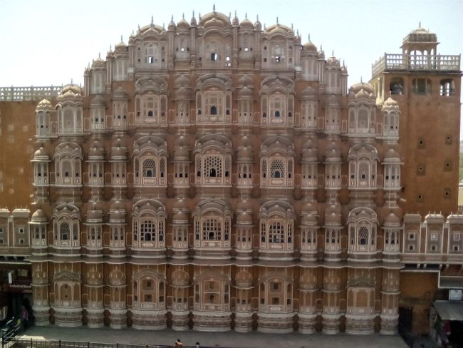 jaipur decouverte palais des vents facade